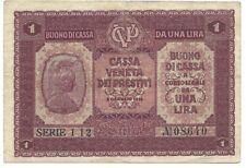1 Lire Venedig 1918, Austria