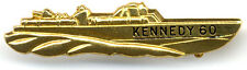 Classic 1960 John F. Kennedy PT-109 Boat Campaign Lapel Pin (5044)