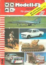 MODELL FAN 2/77 MIG-25_BUNDESWEHR BIBER BRIDGELAYER_BMW 2002T_Do17Z NJG_FERRARI