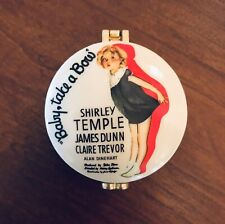 """Shirley Temple Baby Take a Bow Porcelain Hinged Box Westland Giftware 1.5"""" Tall"""