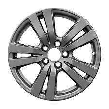 18 X 8; 5 Double Spoke Aluminum Alloy Wheel Charcoal 64088