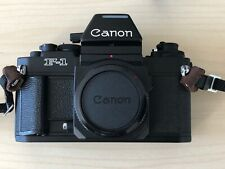 Canon F-1 New AE Finder with grid focusing screen and original strap