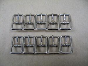 """Drahtschnallen für Trensen Flat Whole Harness Buckle 10 Stück Größe: 12 mm 1/2"""""""
