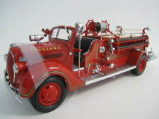 1938 Fire Engine  24K Gold Plated Coin  Georgetown  Road Signature  1:24  OVP