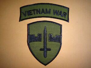 2 Vietnam Guerre Correctifs : + Militaire Assistance Command Vietnam Macv