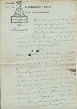 Dänemark  Norwegen 1Reichsbankthaler 12 S.  König Friedrich d. VI. Dokument 1824