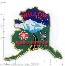 Alaska - Willow Fire & Rescue AK Fire Dept Patch