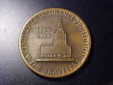 THE TRAVELERS A CENTURY OF INSURANCE PROTECTION MEDAL!   CC58CXX