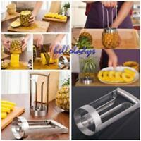 3 in1 New Stainless Kitchen Fruit Pineapple Corer Slicer Cutter Peeler Tools H
