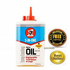 3 In One Motor Oil Lubricate Small Engine Lubricant Fan Parts Sewing Bearings