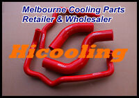 Red silicone radiator heater hose for HILUX KZN165R 3.0 Turbo Diesel 1999-2005