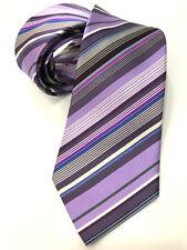 Paul Smith multi-rayures Cravate Fait en Italie très rare 8cm lame