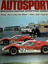Autosport Oct 16th 1969 *Laguna Seca Can Am & Paris 1000 Km & Motor Show*