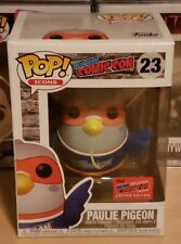 """Funko Pop! Paulie Pigeon #23 2020 Nycc Exclusive Official Sticker """"Reed Pop"""""""