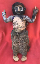 Sepik River Iatmul Headhunter Fiber & Mud Male Payback Doll ~ Papua New Guinea
