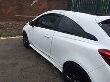 Heko Wind & Rain Deflectors Vauxhall Corsa E 3D inc SRi Smoked New UK Stock