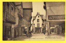 cpa Bretagne VITRÉ Ille et Vilaine Rue POTERIE Maison HEBERT Armurier Pub SINGER