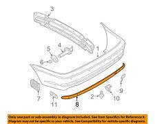 BMW OEM 04-06 325Ci-Bumper Trim-Molding Trim 51127065479