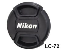 [Brand New] Nikon Lens Front Cap 72mm LC-72 Spring Type Camera Accessory Japan