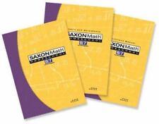 Saxon Math 8/7 Homeschool Kit by Stephen Hake and Saxon Publishers Staff (2004, Kit, Revised)