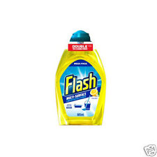 2 x Flash Multi-surface Concentrated Cleaner Crisp Lemon 400ml