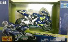 MAISTO 1:18 MOTO DIE CAST HONDA RCV211 2005 MARCO MELANDRI N°33 ART 31551/2