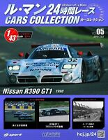 NISSAN R390 GT1 1998  1/43 Model  Le Mans Cars Collection # 5  SPARK