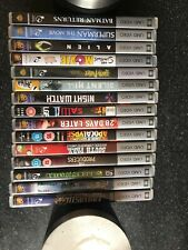 15 X mixed titles Sony PSP UMD Video Movies bundle. SUPER MAN, BATMAN, ALIEN ETC