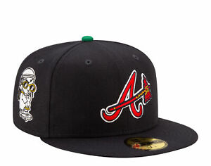 New Era x Offset 59Fifty Atlanta Braves The Icon Patches Fitted Hat 12562420