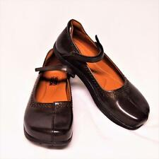 NEW Kalso Earth Solar Too 7 Mary Jane Shoes Brown Leather Negative Heel Studs