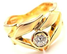 New! Authentic Carrera Y Carrera 18k Mi Princes Greco Roman Diamond Crown Ring
