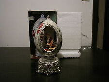 1999 May Department Stores Home For The Holidays Revolving Musical Jeweled Egg