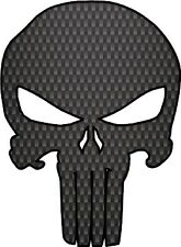 Punisher Skull Carbon fiber Punisher Sticker bumper sticker Truck Car window