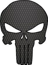 Punisher Skull Carbon fiber Punisher Sticker bumper sticker Truck Car window