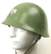 WW2 TYPE YUGOSLAVIAN ARMY M59 STEEL HELMET (No4)