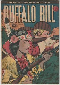 Australian Western Comic: Buffalo Bill #40 Horwitz Publications 1954
