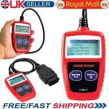 Motor de coche escáner lector de códigos de avería Herramienta de restablecimiento de diagnóstico OBD 2 Can Bus EOBD UK