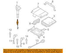 VW VOLKSWAGEN OEM 11-17 CC 2.0L-L4 Ignition-Spark Plug 06H905621A