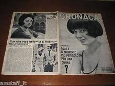 RIVISTA CRONACA=1965/27=GAIA GERMANI=DELITTO VIA ARQUA' MILANO=HENRY FORD=