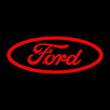 FORD decal sticker 14 x 5.5 inch Red vinyl