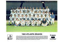 1983 ATLANTA BRAVES TEAM  8X10 PHOTO  BASEBALL GEORGIA HOF MLB USA MURPHY