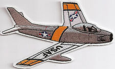 F 86  SABRE JET  Aircraft Airpllane Aviation Collectable Embroidered Patch R/C