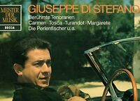 "Giuseppe Di Stefano Berühmte Tenorarien Carmen Tosca Turandot 12 "" LP (L6904)"