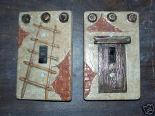 Ceramic mold, Jay-Kay Pueblo switch plate cover
