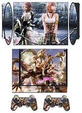 Skin Sticker for PS3 Super Slim with 2 controller skins Final Fantasy Q111