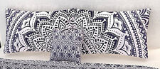 "Set of 2 Indain Handmade 18X28"" Mandala Bed Cotton Cushion Pillow Cover Decor 26"