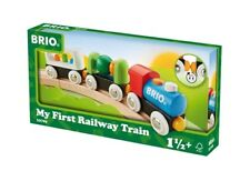 BRIO 33729 JUGUETE MADERA MI PRIMER TREN // Brio 33729 My First Railway Train