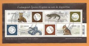2006 Endangered Species - 1 Souvenir Sheet USED