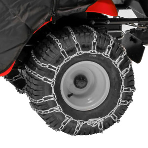 Tractor Tire Chains for 20 in. x 8 in. Wheels Set of 2 Lawn Snow Arnold Rear New