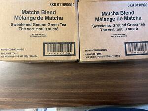 starbucks matcha green tea powder 12 Bags 17.6 Oz Each Sweetened March 2022